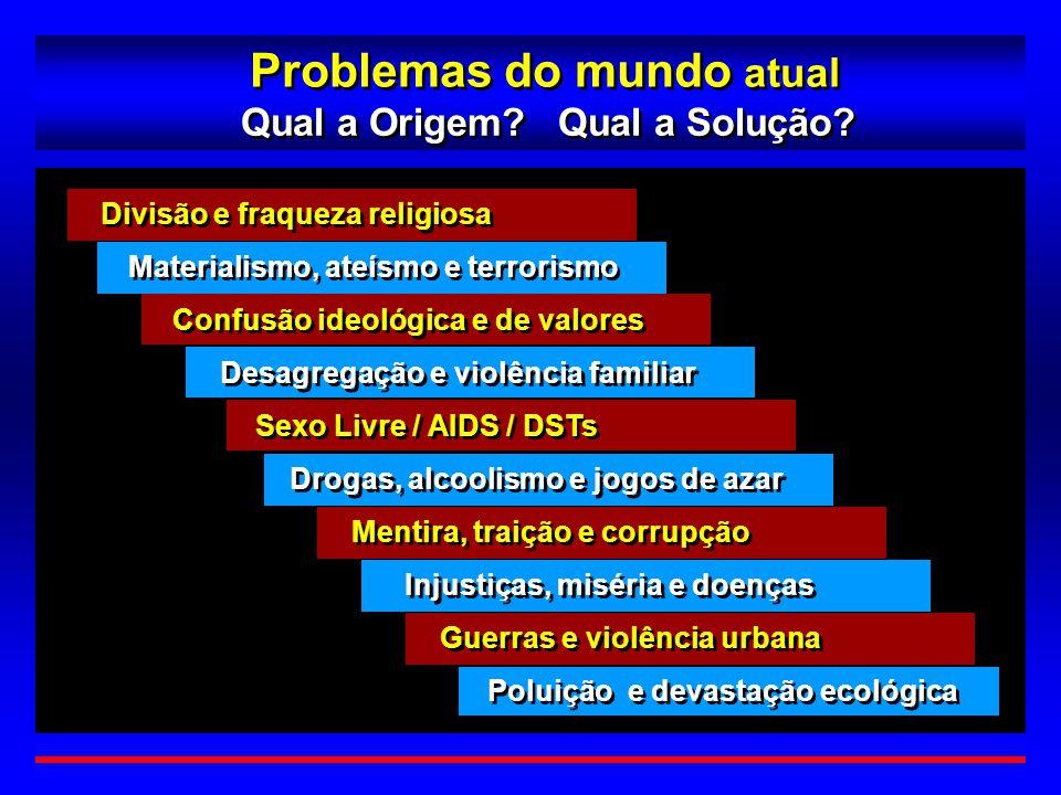 Problemas do mundo atual