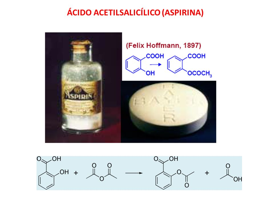 ÁCIDO ACETILSALICÍLICO (ASPIRINA)