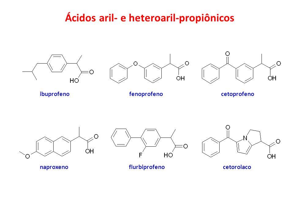 Ácidos aril- e heteroaril-propiônicos