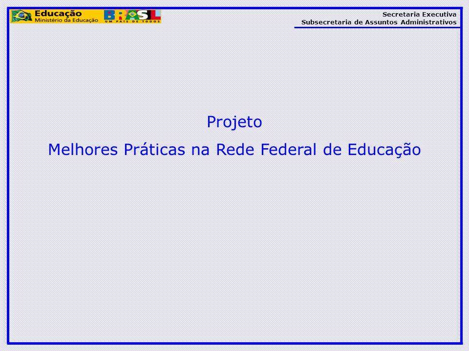 Melhores Práticas na Rede Federal de Educação