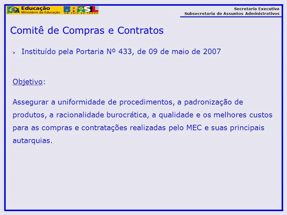 Comitê de Compras e Contratos