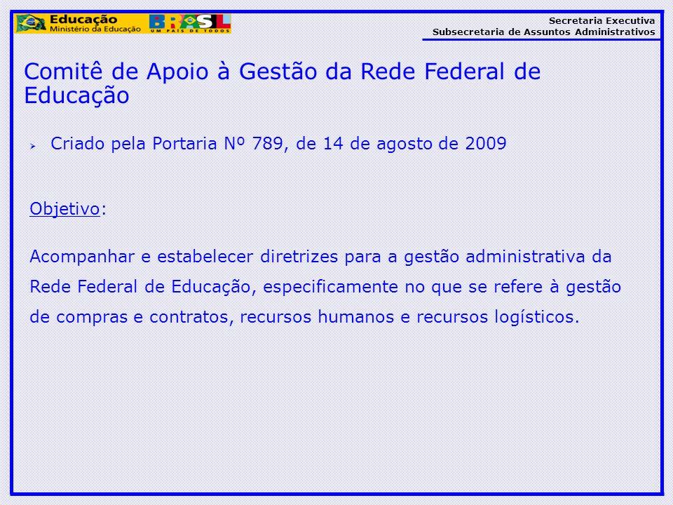 Comitê de Apoio à Gestão da Rede Federal de Educação