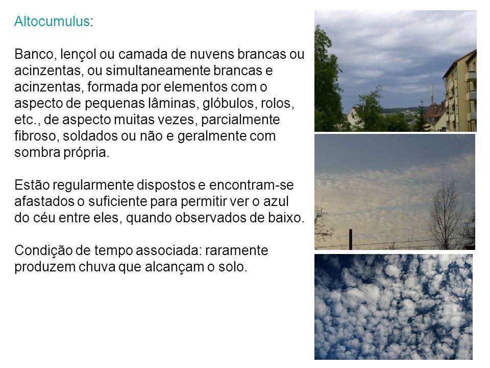 Altocumulus: