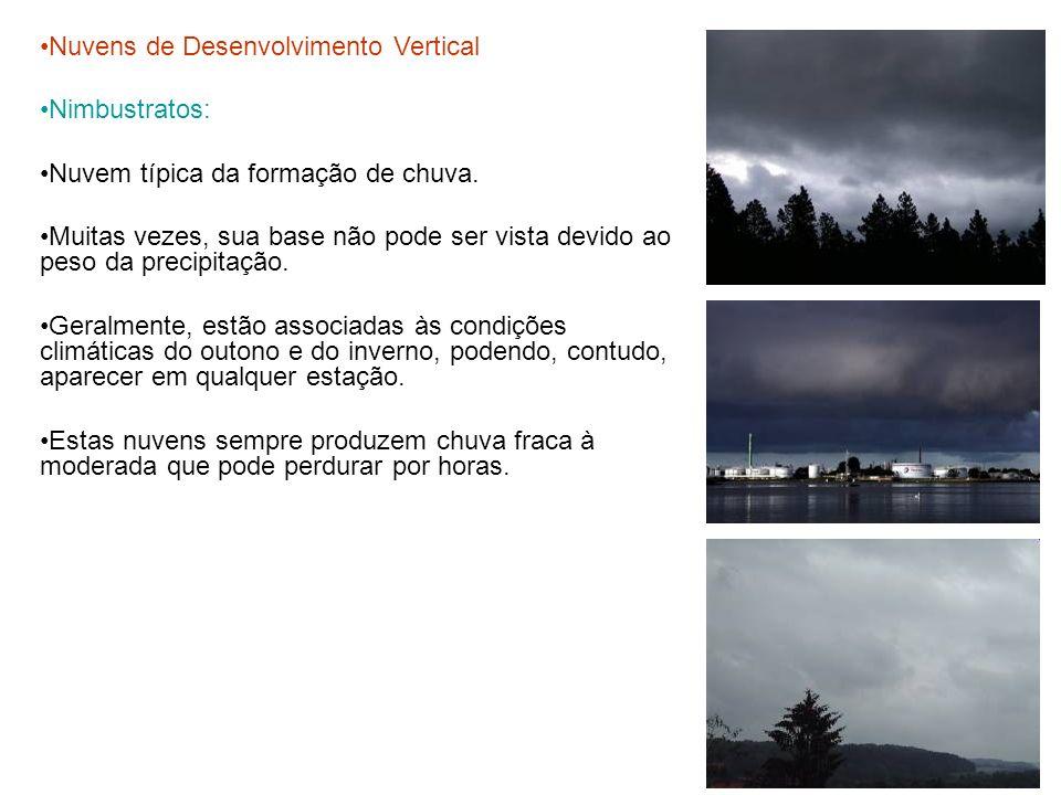 Nuvens de Desenvolvimento Vertical
