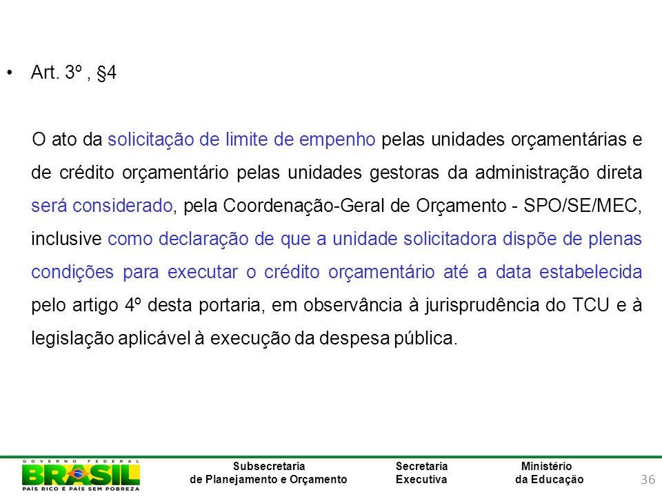 Art. 3º , §4