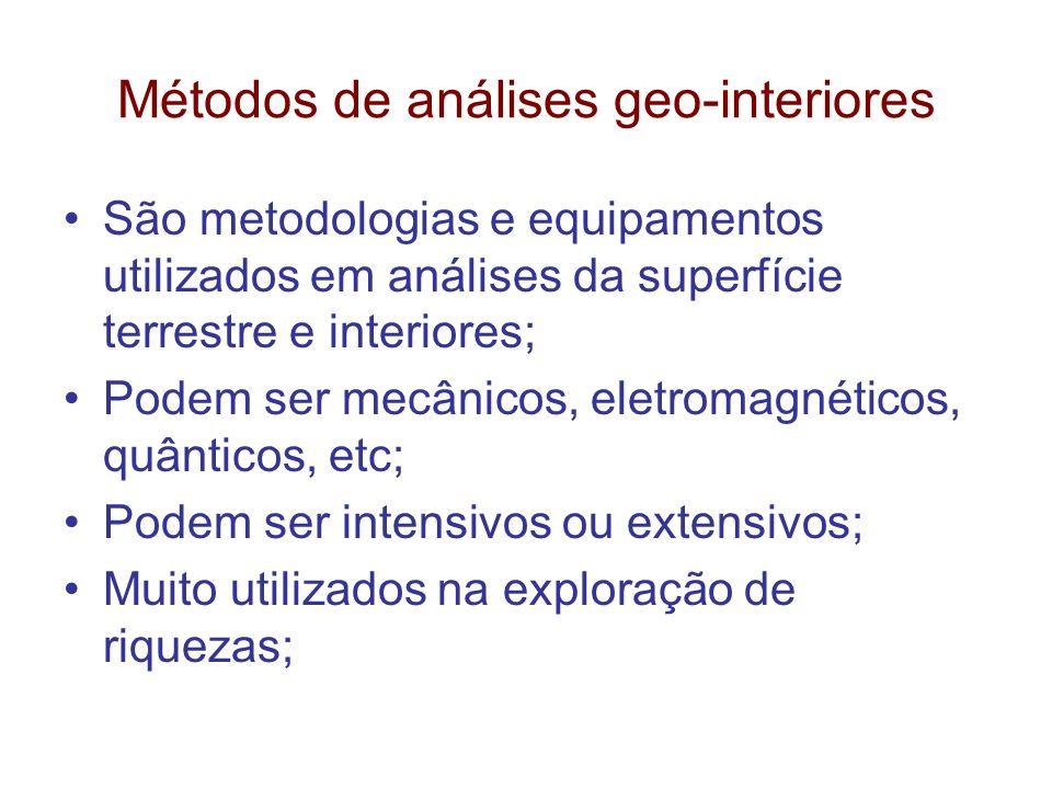 Métodos de análises geo-interiores