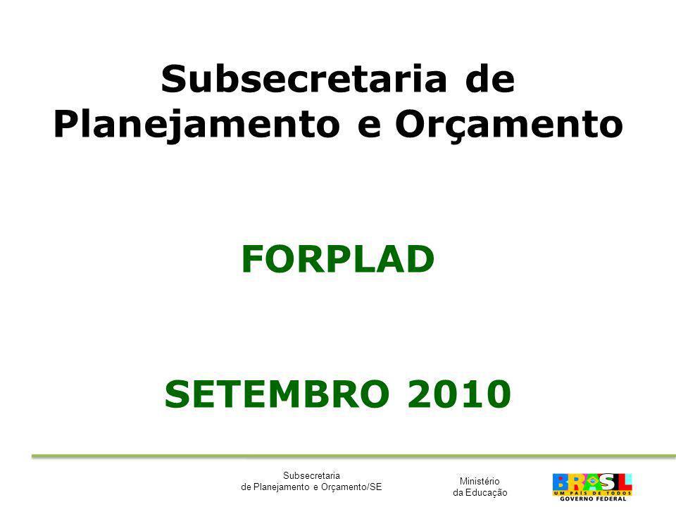 Subsecretaria de Planejamento e Orçamento