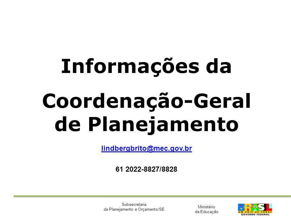 Coordenação-Geral de Planejamento
