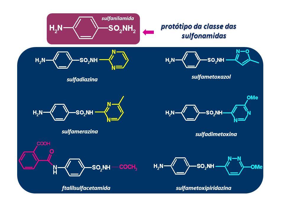 protótipo da classe das sulfonamidas