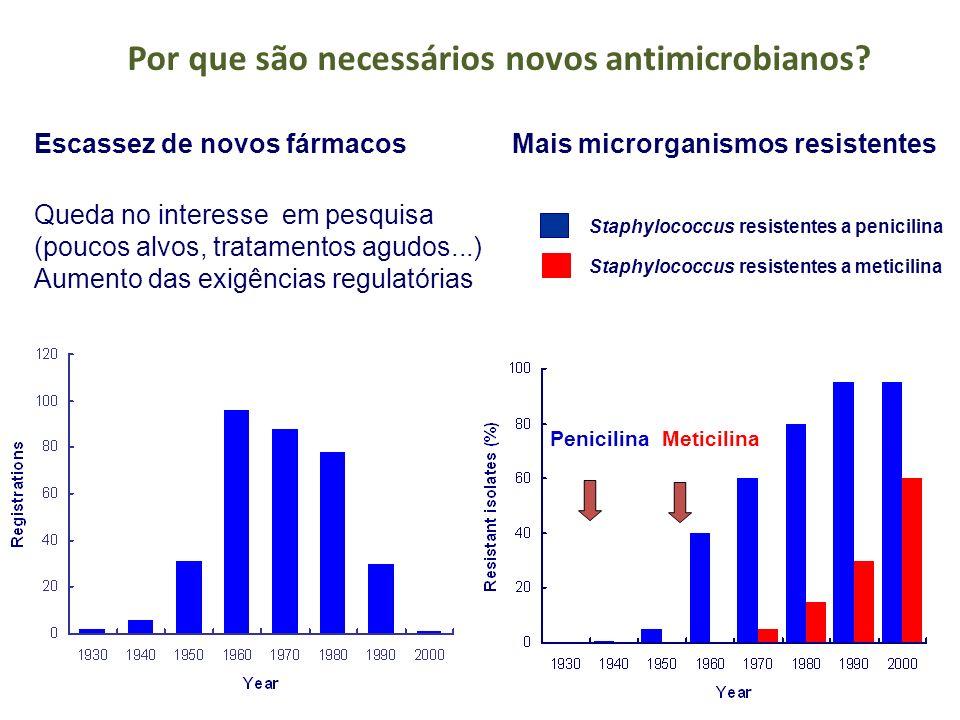 Por que são necessários novos antimicrobianos