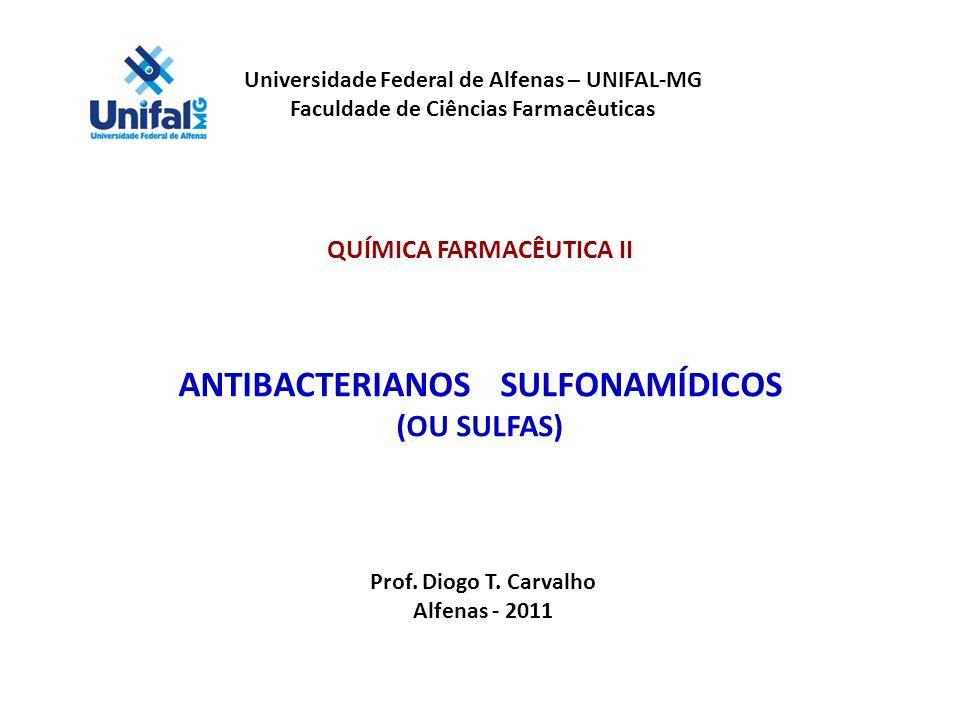 ANTIBACTERIANOS SULFONAMÍDICOS