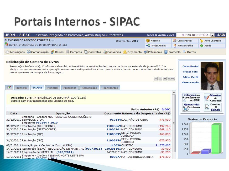 Portais Internos - SIPAC
