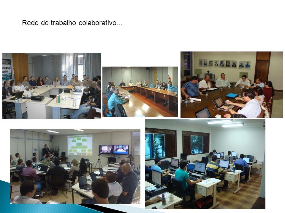 Rede de trabalho colaborativo...