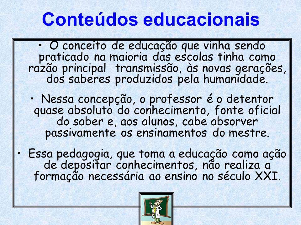 Conteúdos educacionais