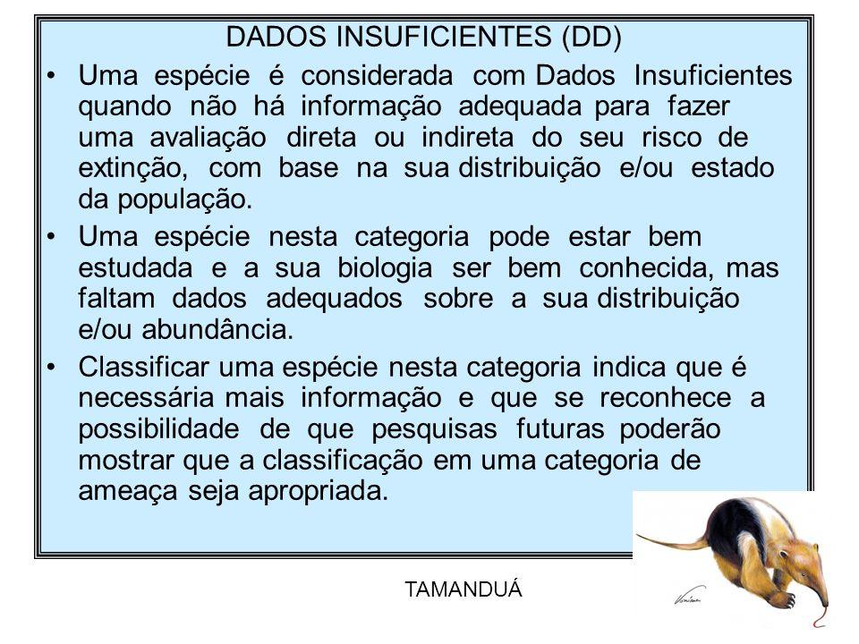 DADOS INSUFICIENTES (DD)