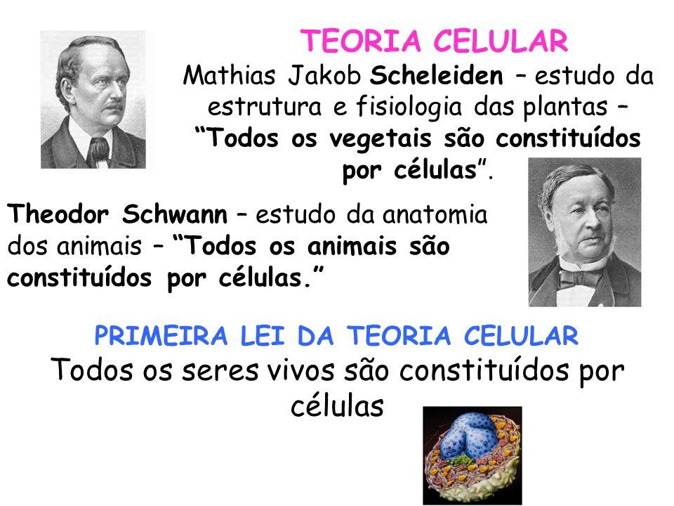 PRIMEIRA LEI DA TEORIA CELULAR