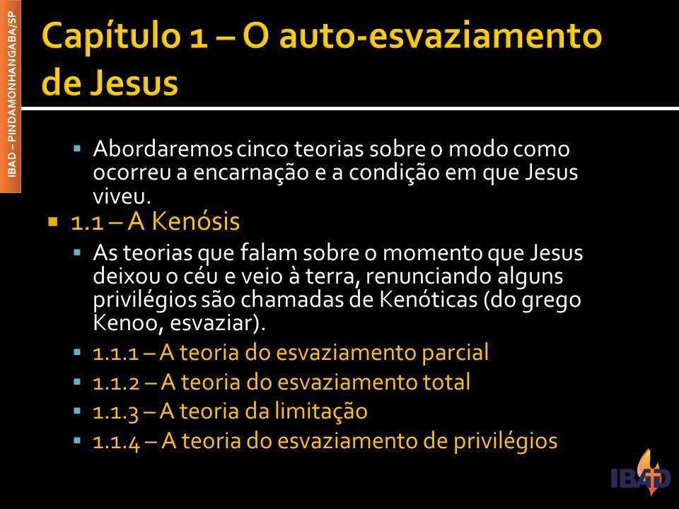 Capítulo 1 – O auto-esvaziamento de Jesus