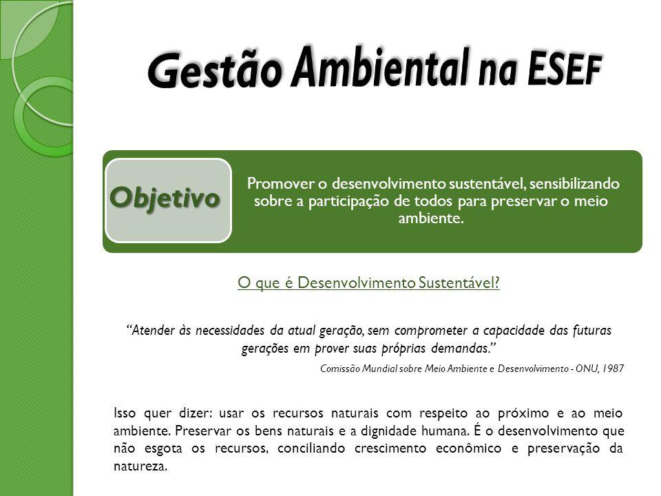 Gestão Ambiental na ESEF