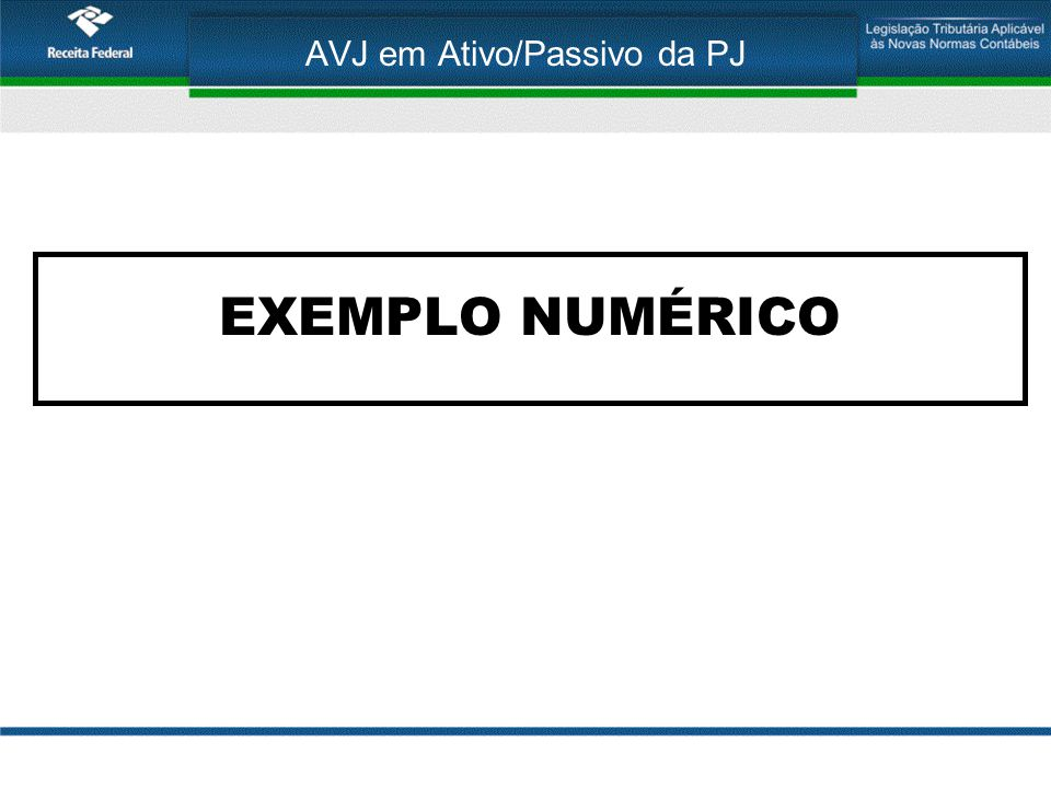 AVJ em Ativo/Passivo da PJ