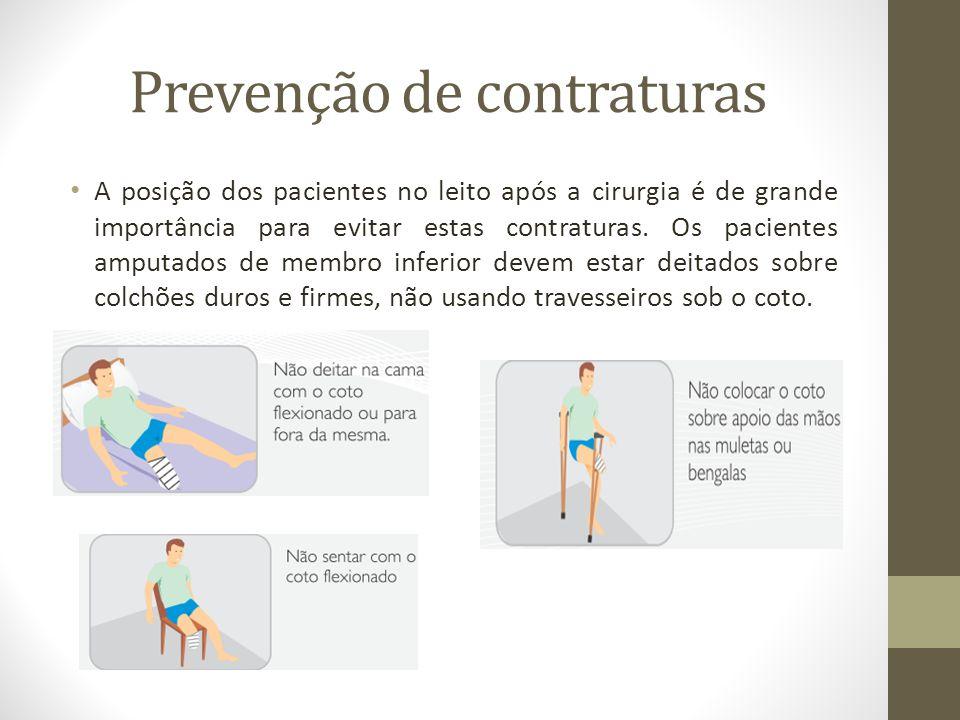 Prevenção de contraturas