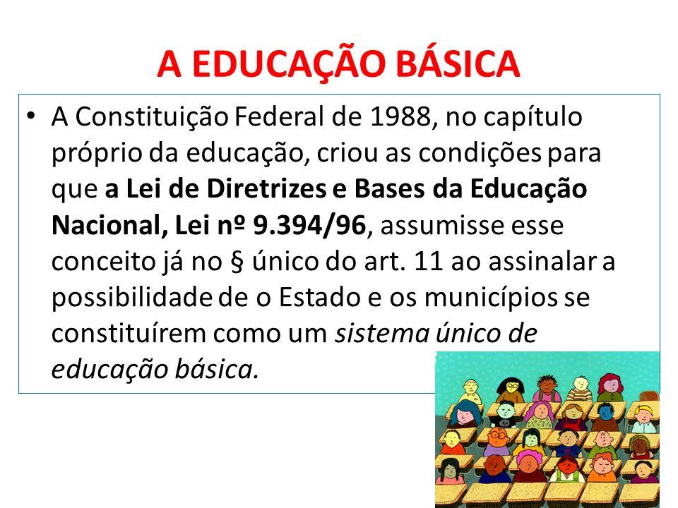 A EDUCAÇÃO BÁSICA
