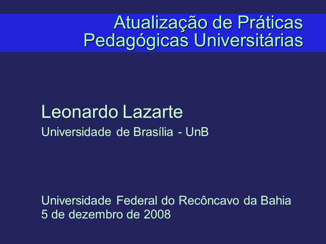 Atualização de Práticas Pedagógicas Universitárias