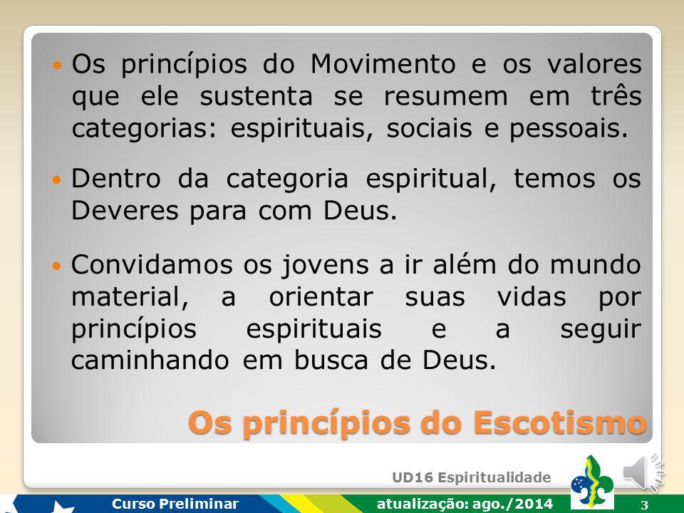 Os princípios do Escotismo