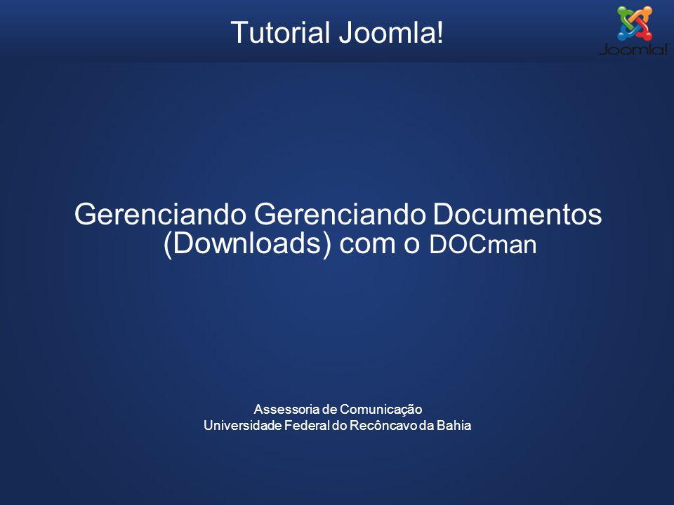 Gerenciando Gerenciando Documentos (Downloads) com o DOCman