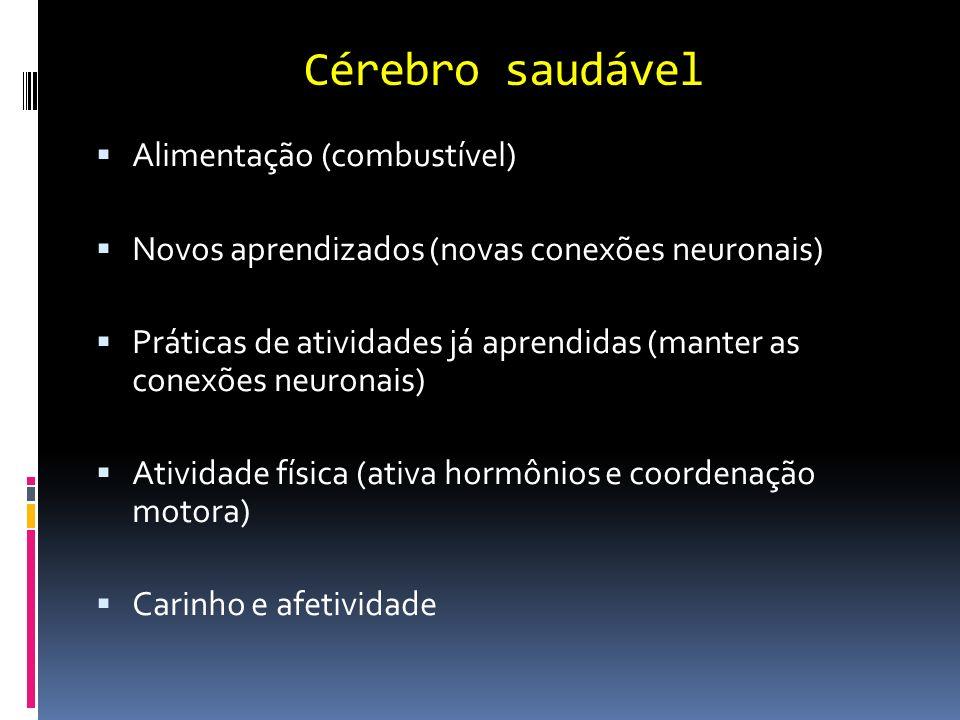 Cérebro saudável Alimentação (combustível)