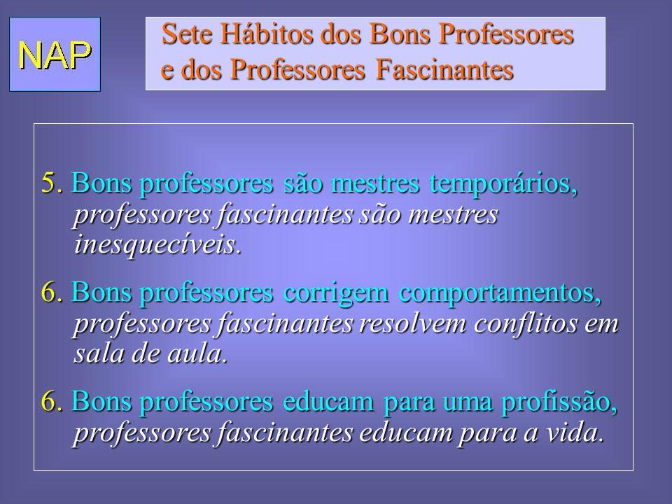 Sete Hábitos dos Bons Professores