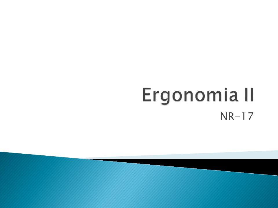 Ergonomia II NR-17