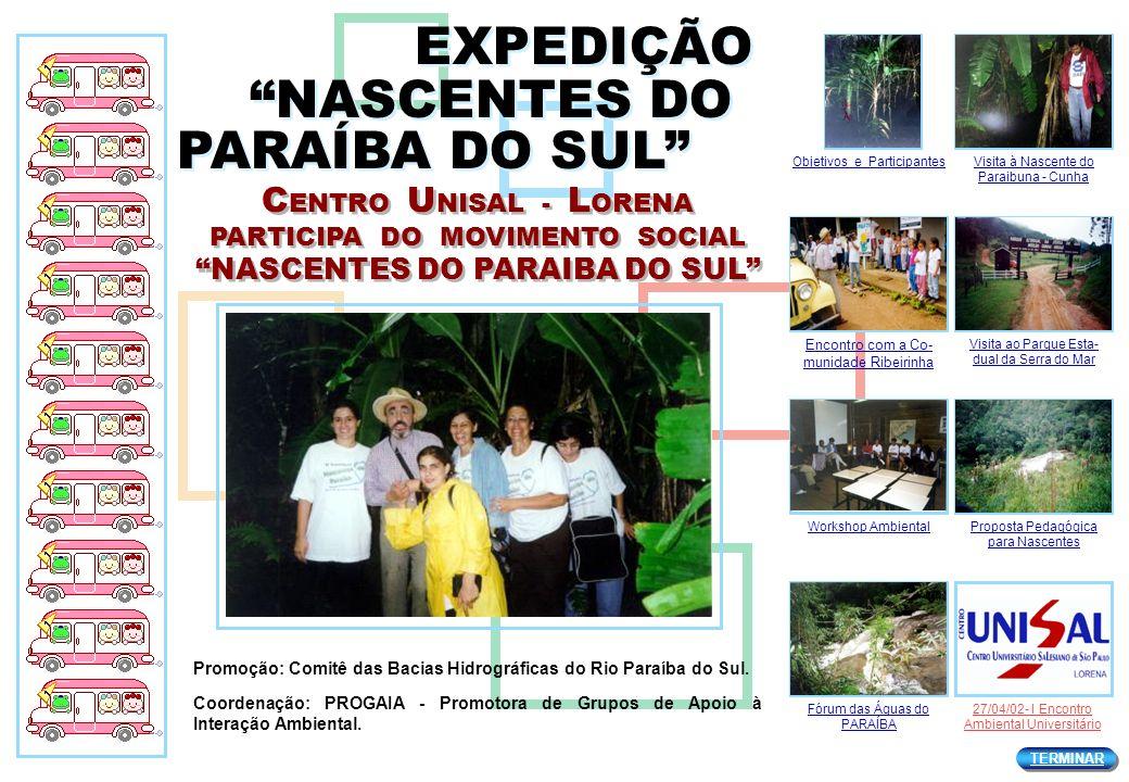 EXPEDIÇÃO NASCENTES DO PARAÍBA DO SUL
