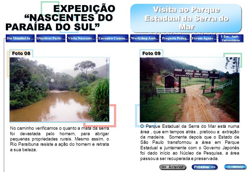 Visita ao Parque Estadual da Serra do Mar