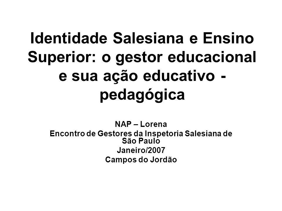 Encontro de Gestores da Inspetoria Salesiana de São Paulo