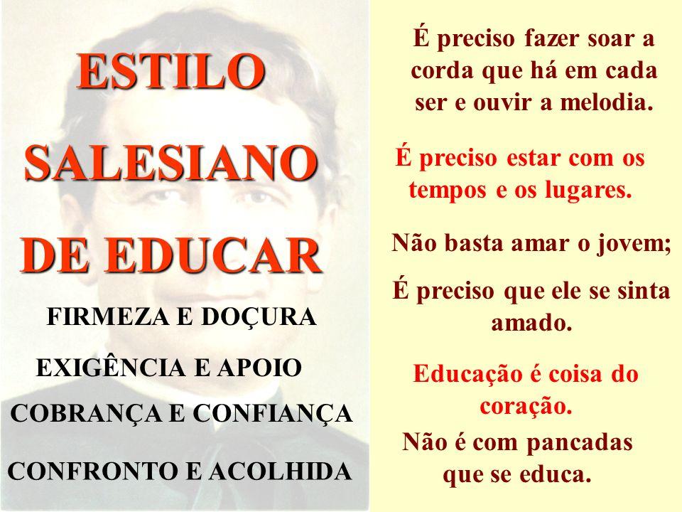 ESTILO SALESIANO DE EDUCAR