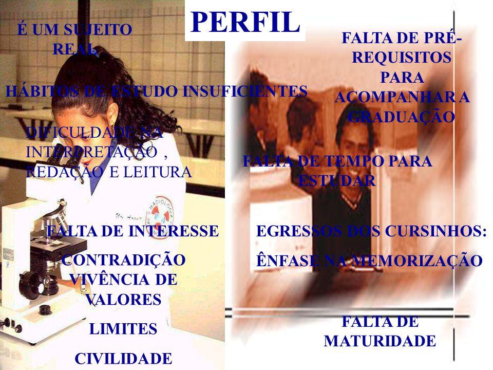 PERFIL É UM SUJEITO REAL