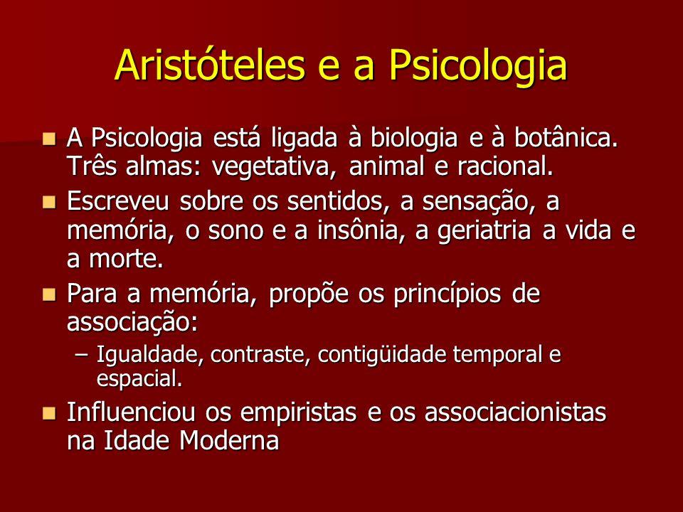 Aristóteles e a Psicologia