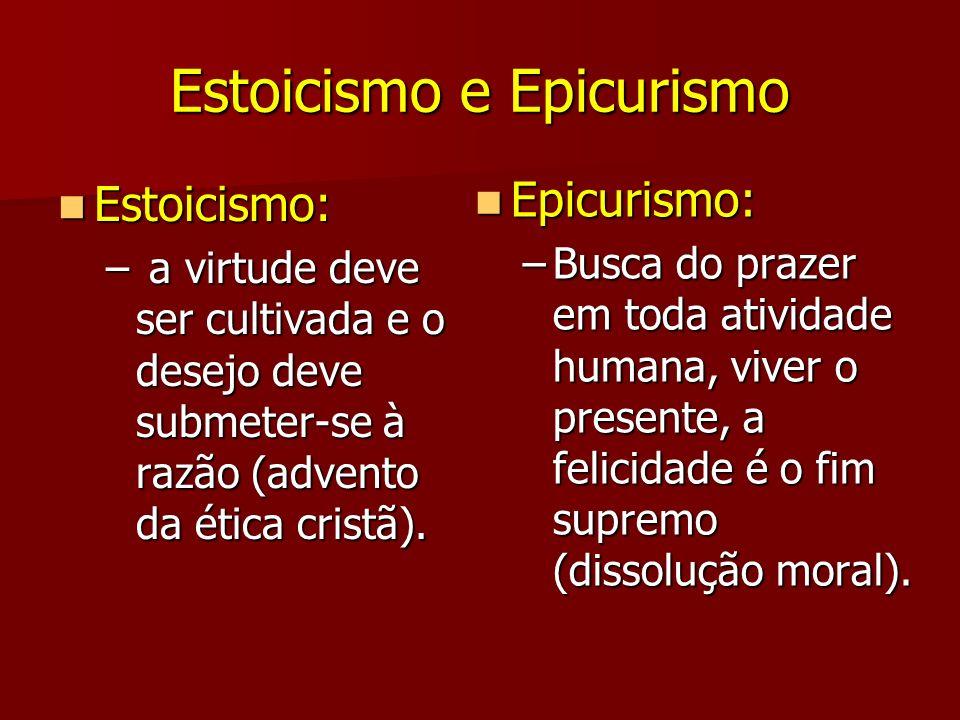 Estoicismo e Epicurismo