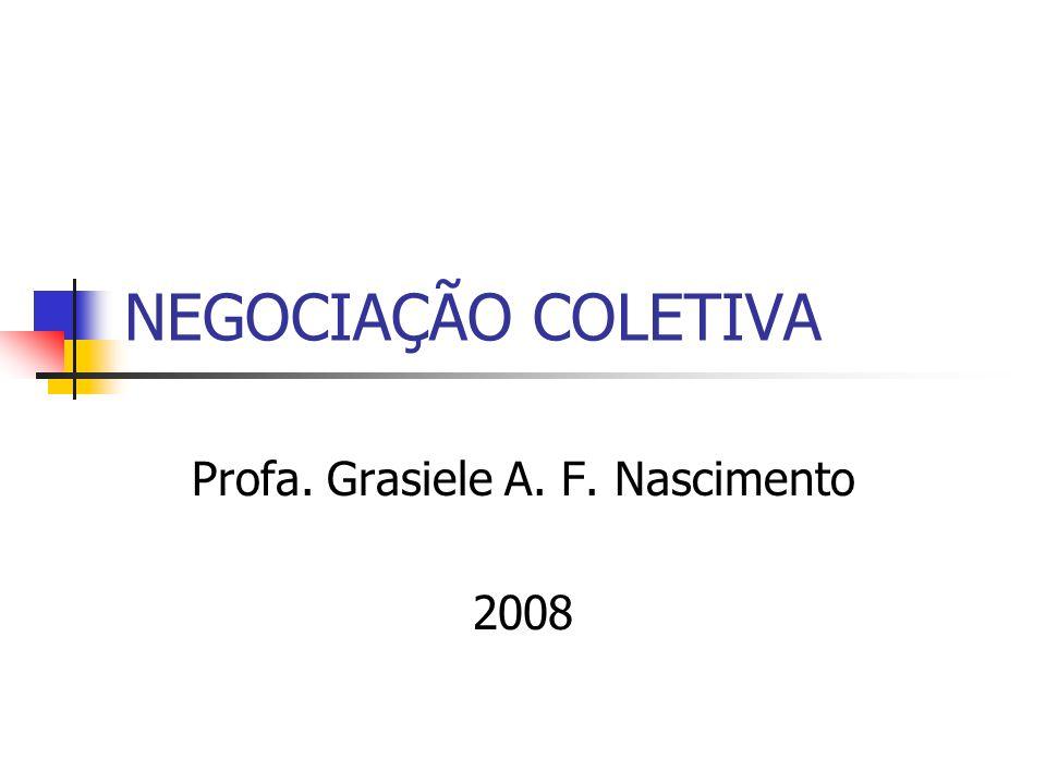 Profa. Grasiele A. F. Nascimento 2008