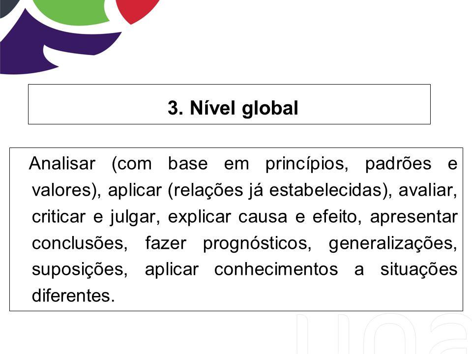 3. Nível global