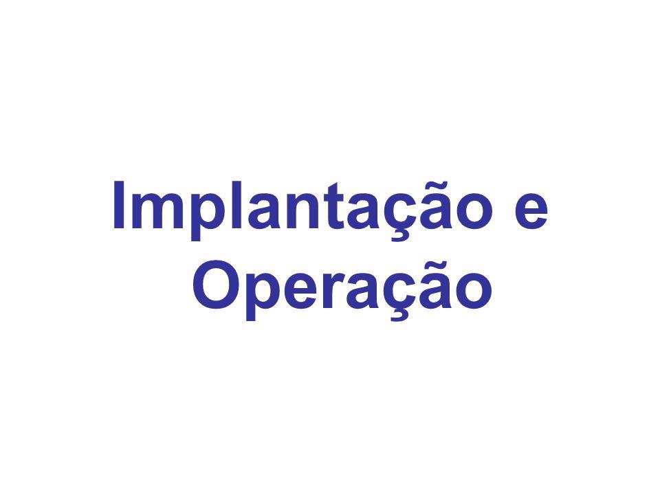 Implantação e Operação