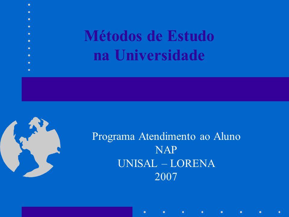 Métodos de Estudo na Universidade