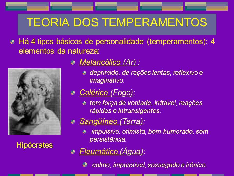 TEORIA DOS TEMPERAMENTOS