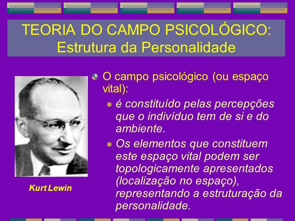 TEORIA DO CAMPO PSICOLÓGICO: Estrutura da Personalidade
