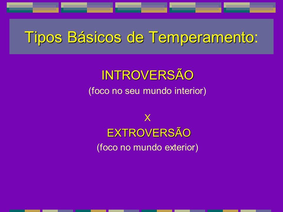 Tipos Básicos de Temperamento:
