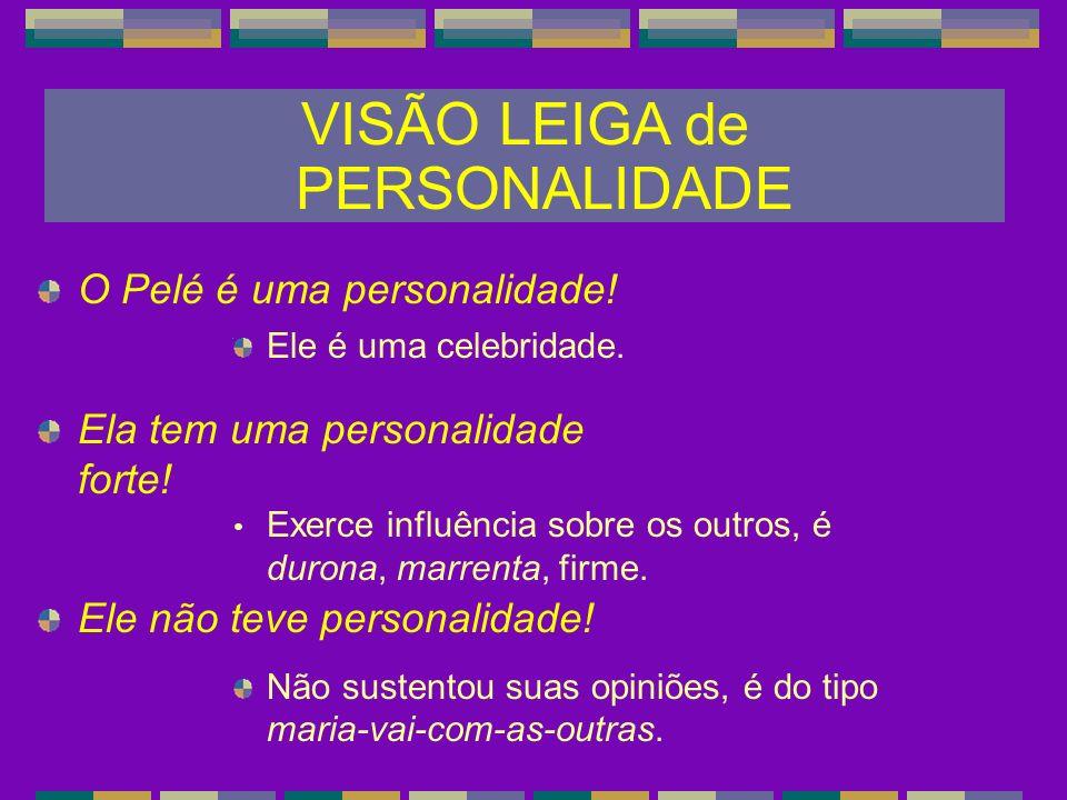 VISÃO LEIGA de PERSONALIDADE