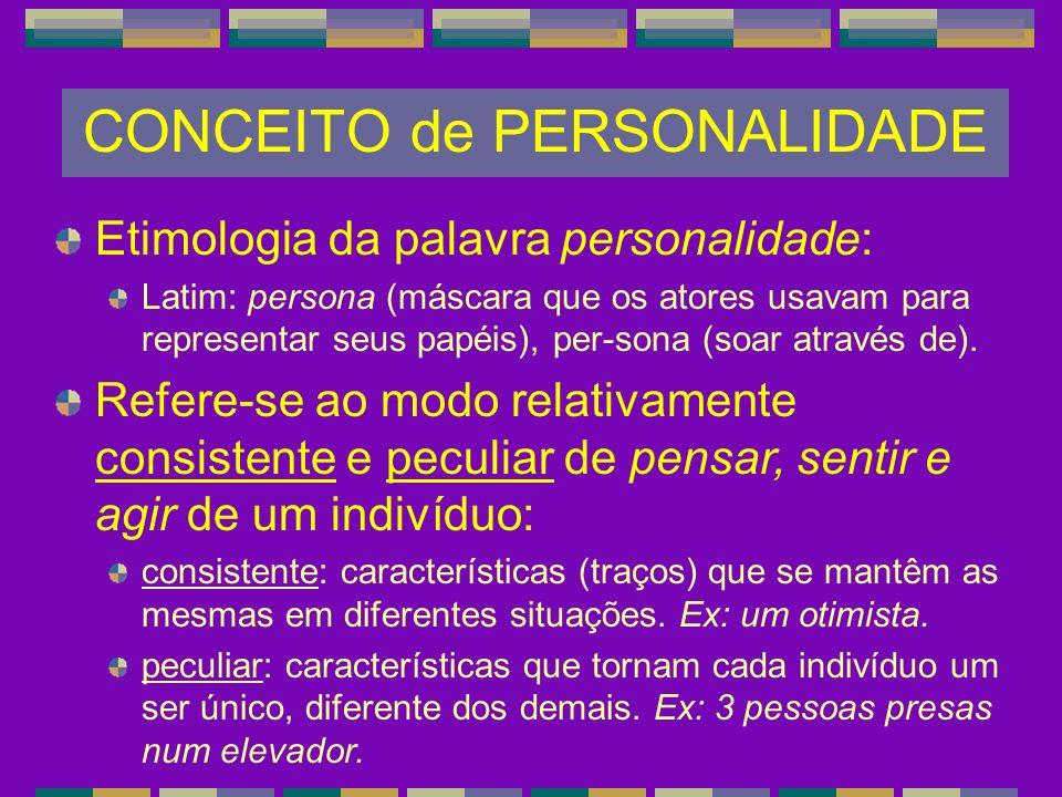 CONCEITO de PERSONALIDADE