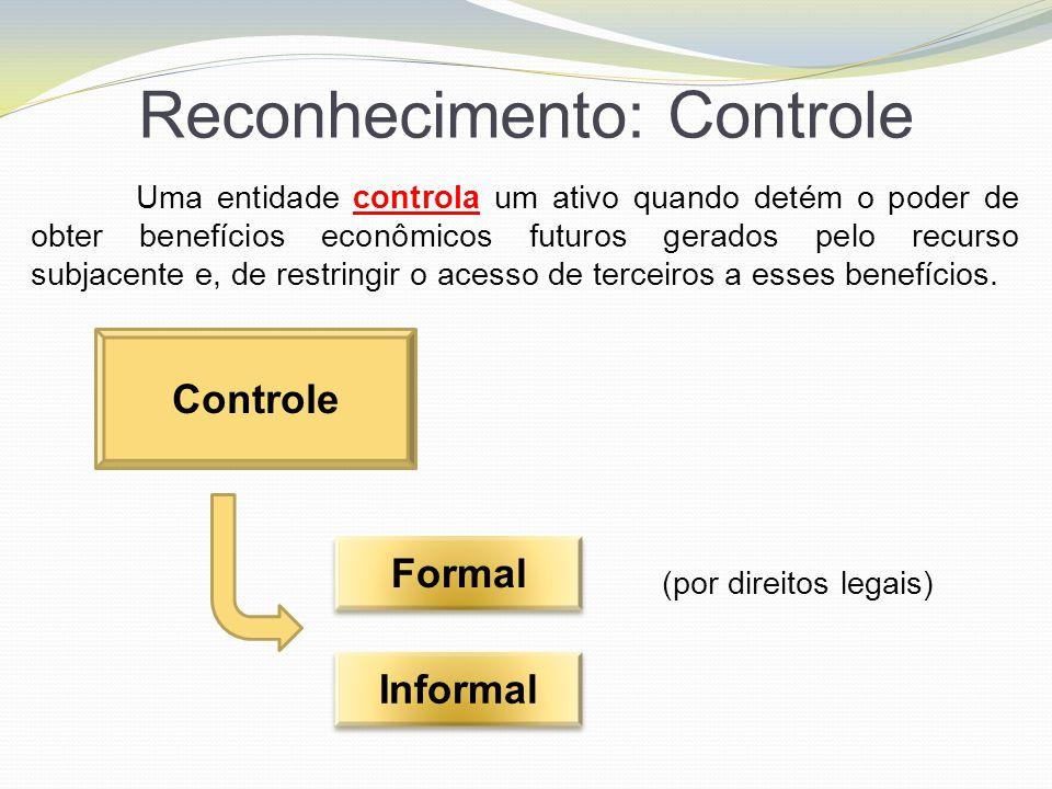 Reconhecimento: Controle