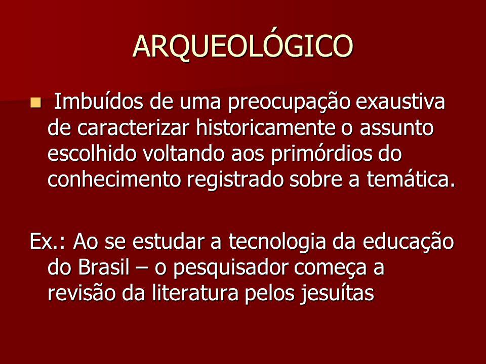 ARQUEOLÓGICO