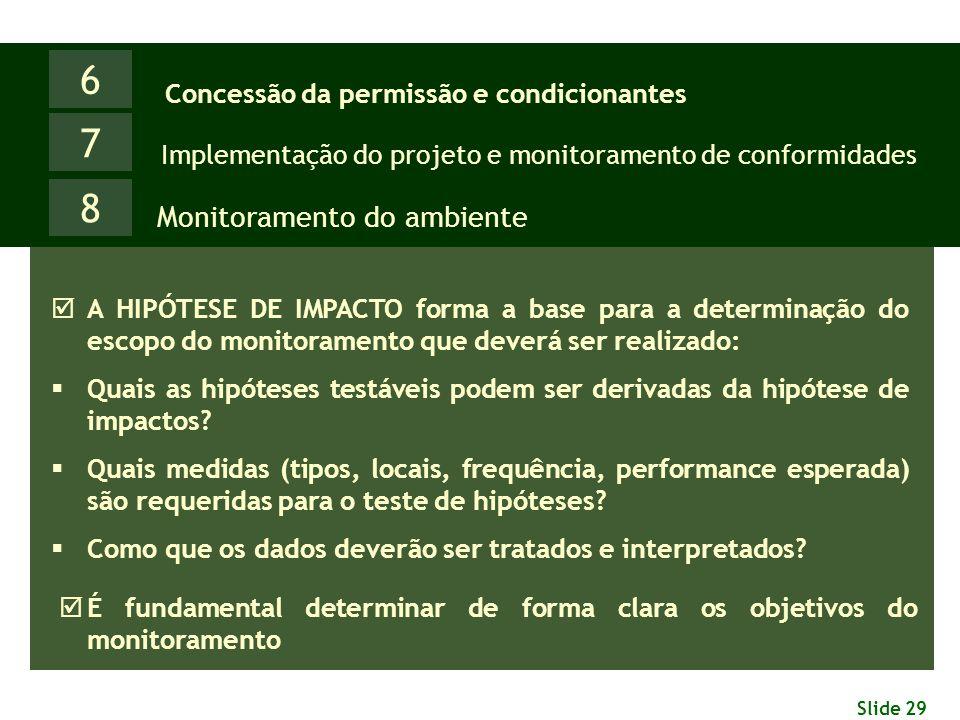 6 7 8 Monitoramento do ambiente